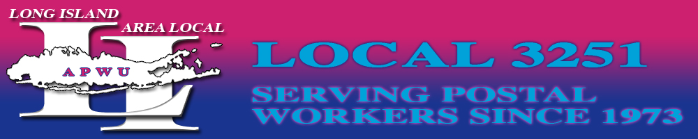 Long Island New York Area Local Apwu